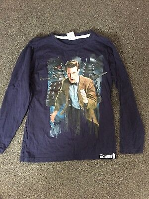 Boys Doctor Who Long Sleeved Top Age 9-10