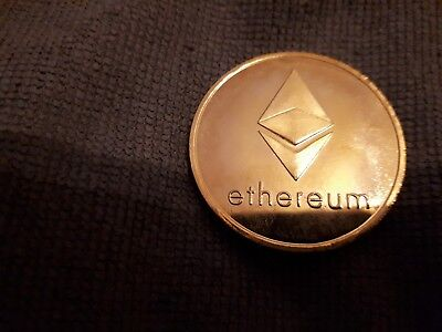 Münze Ethereum Bronze