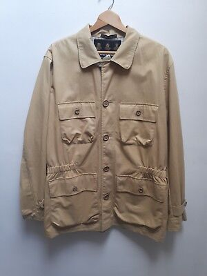 Modern Barbour NWT Large Casual Safari Jacket Beige