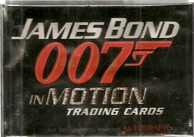Rittenhouse James Bond 007 In Motion 2008 Base Card Set
