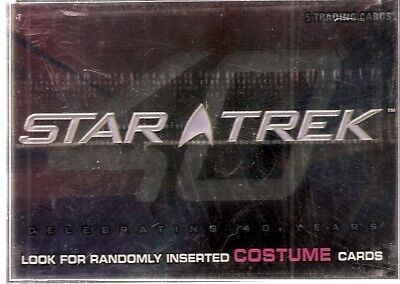 Star Trek 40th Anniversary Base Card Set (2006)