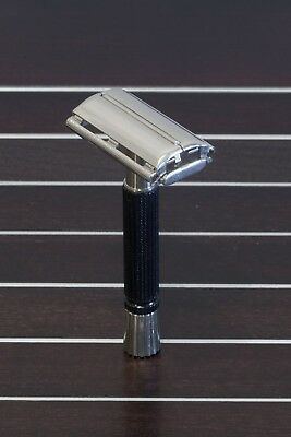 Gillette Super Speed black handle V2 safety razor - rasoio sicurezza vintage