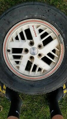 1984 Pontiac Fiero Indy Pace Car Wheels