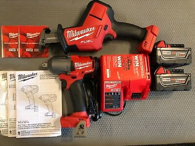 "Milwaukee 2860-20 1/2"" Impact 2719-20 Hackzall Kit"