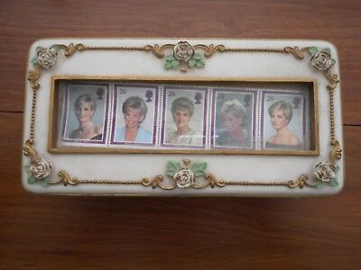 """Princess Diana """"Candle in the Wind"""" Musical Jewelry Box"""