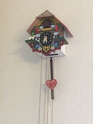 German Black Forest Cuckoo Clock -fully Working