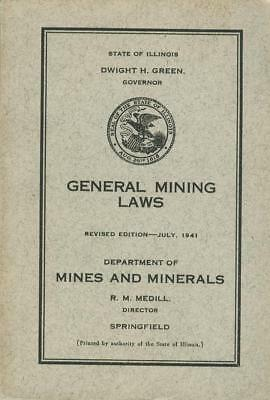 1941 BOOK of DEPARTMENT OF MINES AND MINERALS