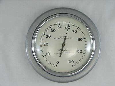 Airguide No. 605 Hygrometer Humidity Indicator Retro Industrial Look