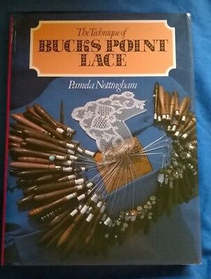 """""""The Technique of Buck's Point Lace"""", by P. Nottingham - hardback book"""