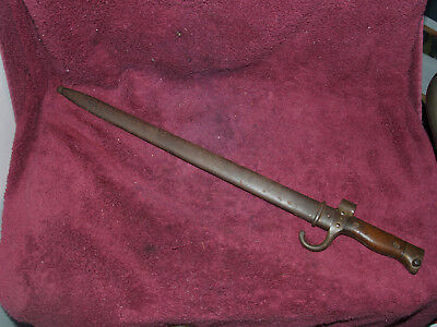 French Second Pattern Berthier Bayonet With Scabbard