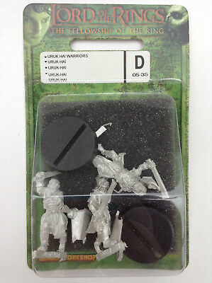 Uruk-Hai Warriors w/ Sword & Shield - Lord of the Rings, Fellowship of the Ring