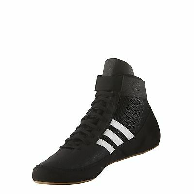 reputable site 90e20 08b17 Adidas Hvc 2 Black White Wrestling Shoes ( AQ3325 )