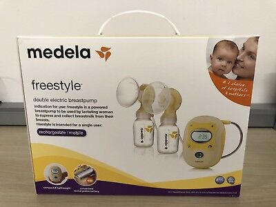 [NEW] Medela Freestyle Double Electric Breast Pump - FREE SHIPPING