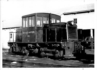 1961 Louisiana Southern GE 45T Train #301 Engine 5x7 Photo X2200S New Orleans  F