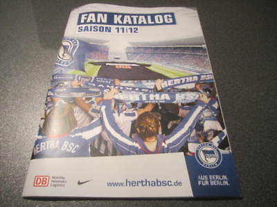 Fan-Katalog Saison 11/12 Hertha BSC Berlin