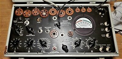 Vintage Triplett I-177-B Signal Corps U.s. Army Tube Tester  Working Condition!!