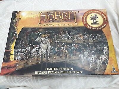 The Hobbit Strategy Battle Game Escape From Goblin Town Box Set Limited Edition