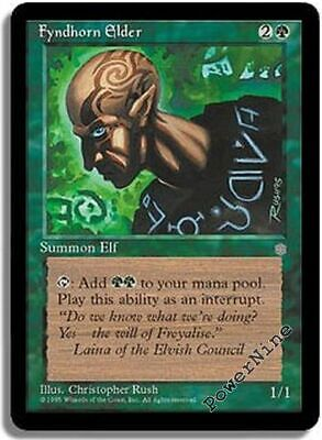Green Ice Age Mtg Magic Common 1x x1 1 PLAYED Fyndhorn Elves