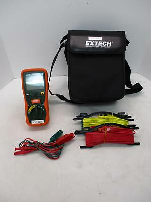 Extech 382252 Earth Resistance Tester Kit W/ Bag And Probes