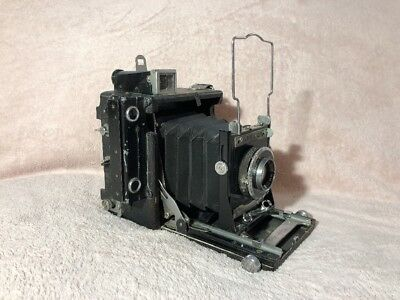 Graflex 2 x 3 Baby Speed Graphic with Rapax lens