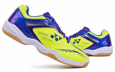 Yonex Badminton Shoes Power Cushion 35 Racket Yellow Blue SHB-34EX. Women sz 6.5