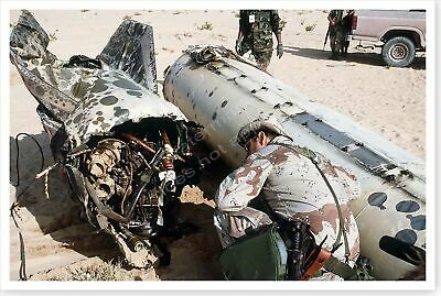 Iraqi Scud Missile Laying In Desert Operation Desert Storm 8 x 12 Photo