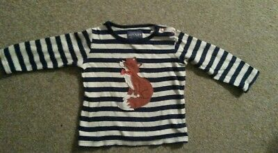Boys Joules top 9- 12 month