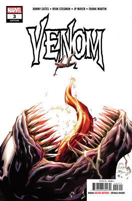 VENOM 3 2018 RYAN STEGMAN DONNY CATES NM 1st APPEARANCE NEW CHARACTER KNULL