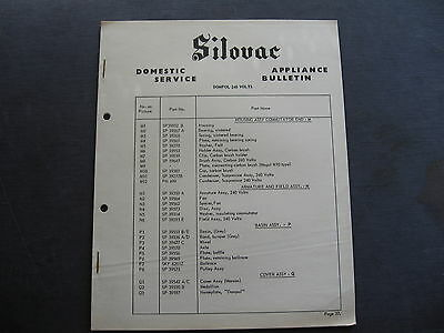 Silovac Dompol  PARTS LIST