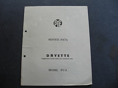 PYE Dryette Model PC 2 SERVICE DATA