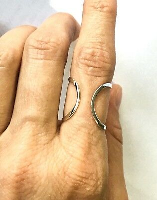 WHOLESALE LOT! 18 Silver Plated Open Rings (6 of each size-included are 6,7,8)