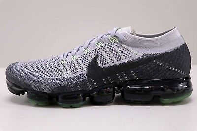 Nike Air Vapormax Flyknit E Neon Heritage Pure Platinum 922915 002 Size 12 New