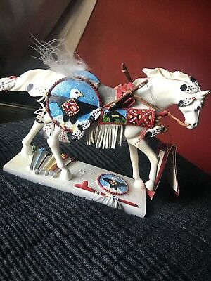 """trail of painted ponies figurine """" Sacred Reflection Of Time"""""""
