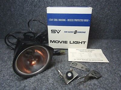 Vintage Smith Victor Model Q-1U Replacement Lamp Movie Light