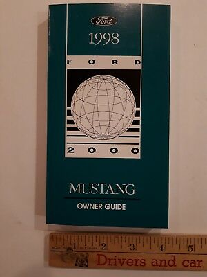1998 MUSTANG - Original Owner Guide - Excellent Condition
