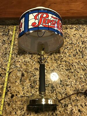 Pepsi Cola Vintage Sign Lighted Lamp New Old Stock  NOS RARE FIND LAMP