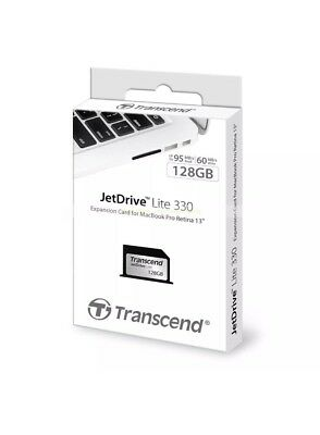 Transcend 128GB JetDrive Lite 330 Expansion Card for MAC - New