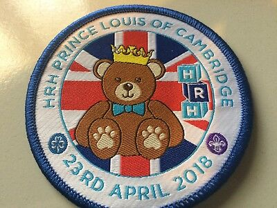 Girl Guides / Scouts Prince Louis of Cambridge