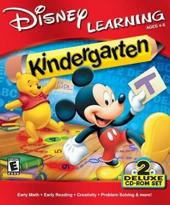 Disney Learning Kindergarten - Mickey Mouse CD-ROM deluxe set
