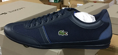 30b1860e2 Lacoste Misano Sport 318 1 CAM Navy Blue Men s Casual Sneakers 7-36CAM0057ND1  L