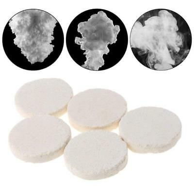 10Pcs Smoke Cake White Effect Show Round Bomb Photography Prop Aid Toy Divine