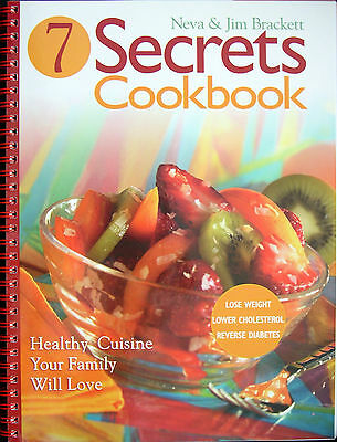 7 Secrets Cookbook, Vegan, Plant Based. Buy here and cause $5 donation to Aid