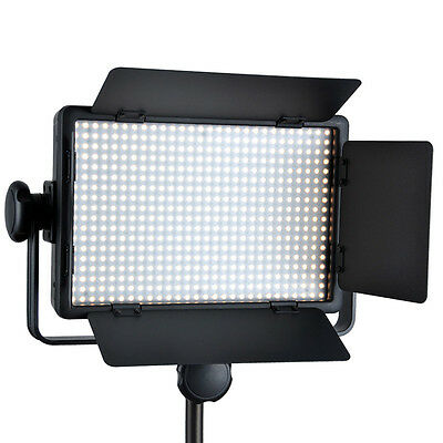 Godox LED500C Lamp Panel 3300-5600K Bi-color Video Light Lighting + Controller