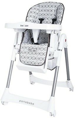 Love N Care Portebebe High Chair (Brindle) RRP $189