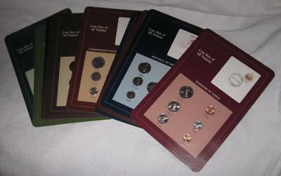16 sets Coins of all Nations Pacific countries,Unc.-see description ---see pics