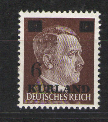 Germany Third Reich 1941 Sc# 1N21 MNH VF  Kurland Overprint - Nice solid copy