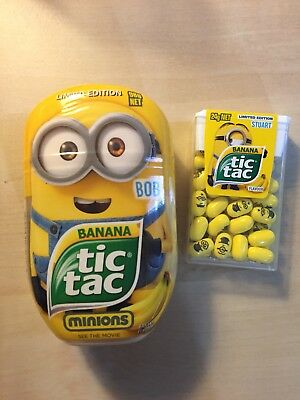 Minions Tictac - Bob (large) Limited Edition. Expired Collection. Do Not Eat
