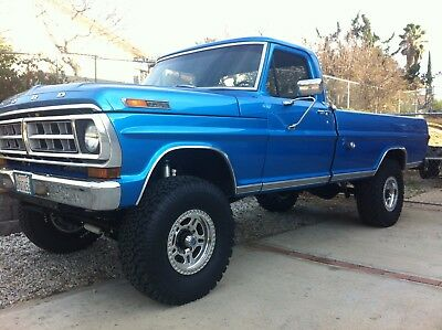 1971 Ford F-250  1971 ford f250 diesel one of a kind