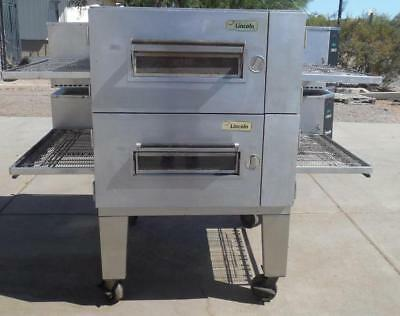Lincoln 1600 Gas (NG/LPG) Conveyor Pizza Oven Double Stack Warranty Available!!