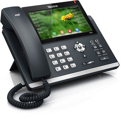 Yealink SIP-T48G 6Line Dual Gigabit VOIP Business Telephone Telstra DOT IP Phone